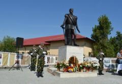 Statuia lui Alexandru Ioan Cuza a fost dezvelită în comuna Gorgota FOTO