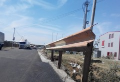 Gropile din zona Parcului Industrial Ploiești au fost asfaltate FOTO