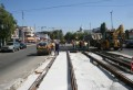 Lucrările la sectorul 102 al liniei de tramvai reîncep de mâine