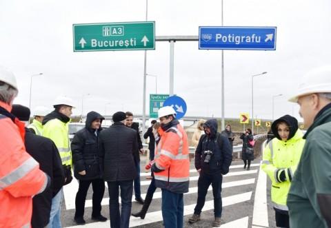 CJ Prahova a inaugurat nodul rutier de acces pe A3, de la Gherghita GALERIE FOTO