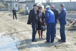 Preşedintele CJ, Mircea Cosma, a verificat lucrările la staţia de epurare din Mizil