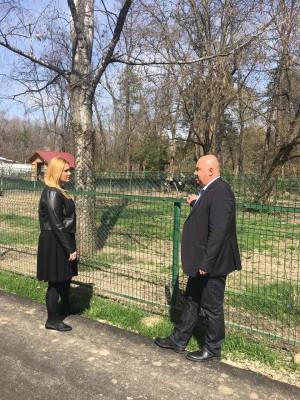Primarul Cristian Ganea a verificat Parcul şi Grădina Zoo din Bucov FOTO