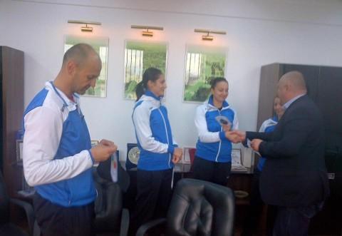 Mesajul primarului Cristian Ganea, dupa intalnirea cu handbalistele de la CSM Ploiesti