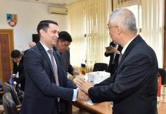 Delegaţie chineză, în vizită la Consiliul Judetean Prahova FOTO