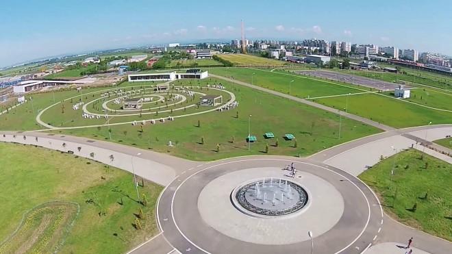 Primăria Ploieşti începe să planteze copaci şi trandafiri în Parcul Municipal Vest