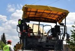 CJ Prahova face precizări cu privire la lucrările de asfaltare din judeţ