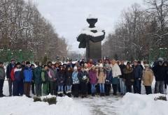 """Mihai Eminescu, omagiat în Parcul """"Constantin Stere"""" de la Bucov"""