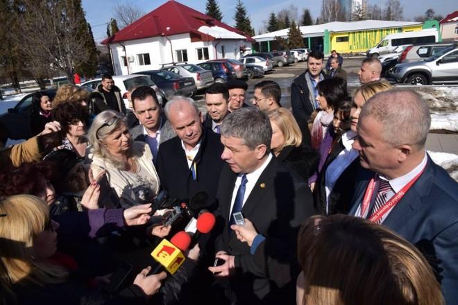 Ministrul Sănătăţii, informat de Bogdan Toader despre problemele Spitalului Judeţean