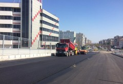 Cum arata AZI pasajul de la Gara de Vest si cand va fi deschis circulatiei