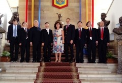 Delegatie chineza, in vizita de lucru la Prefectura Prahova