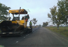 CJ Prahova a inceput asfaltarea drumurilor judetene