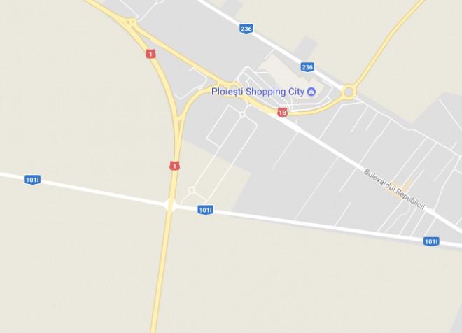 CJ Prahova a aprobat construirea unui pasaj peste DN 1, in zona Centurii de Vest-Buda