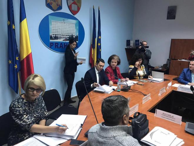 Ce proiecte s-au votat astazi in sedinta Consiliului Judetean/ LISTA