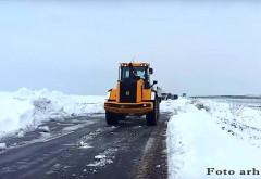 CJ Prahova: Nu exista drumuri blocate sau inchise. Se recomanda conducerea cu prudenta