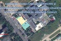 Spitalul Judetean Ploiesti se va numara printre cele mai moderne din tara! CJ Prahova continua reabilitarea cu extinderea sectiei Primiri-Urgente