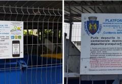 Campanie A.D.I Deseuri Prahova - S-au montat panouri informative la platformele gospodaresti din Ploiesti