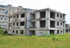 Au fost reluate lucrarile la blocurile de la Gara de Vest, zona Billa