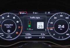 AUDI fenteaza semafoarele: sistemul asta iti spune ce viteza trebuie sa ai ca sa prinzi verde/ VIDEO