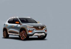 Cum arată și ce specificații are noua Dacia Spring. Automobilul 100% electric va fi prezentat oficial în octombrie