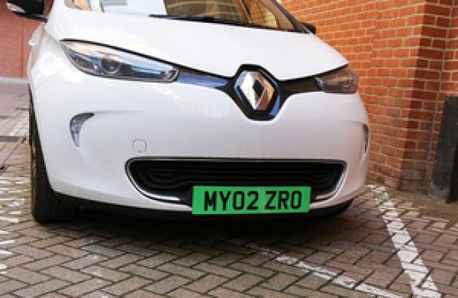 Guvernul a aprobat introducerea numerelor verzi de înmatriculare pentru mijloacele de transport nepoluante