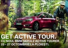 GET ACTIVE TOUR cu noul BMW Seria 2, în acest weekend, la Ploieşti Shopping City