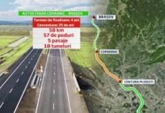 Când încep lucrările la autostrada Comarnic-Brașov