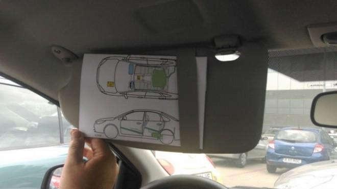 Pleci la drum? Documentul din maşină care îţi poate salva viaţa în caz de accident