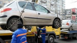 ESTE OFICIAL. Maşinile parcate ilegal nu mai pot fi ridicate