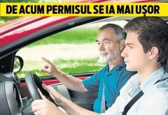 VESTE BUNĂ pentru cei care vor să devină șoferi!  Scapi de un examen!