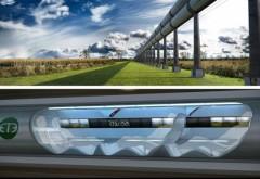 Distanța dintre București și Ploiești, parcursă în 8 minute cu Hyperloop VIDEO