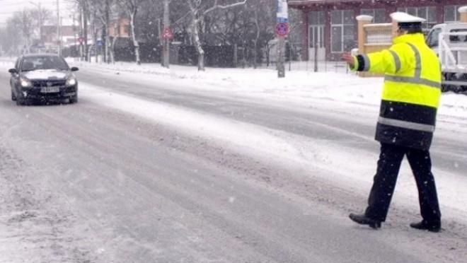 COD RUTIER 2015: Amenzi usturătoare pentru şoferii care nu au cauciucuri de iarnă