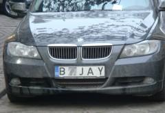 Ai numarul de la masina ASA? Politia opreste in trafic si amendeaza soferii cu numele scrise distantat sau cu alt font