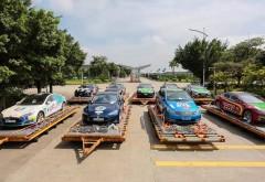 INEDIT! Cursa cu masini electrice in jurul lumii face popas la Ploiesti! Vezi unde poti admira cele 80 de automobile