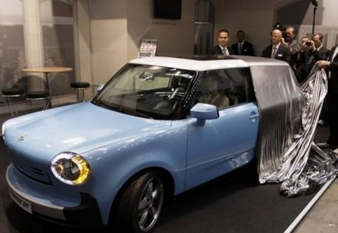 Vă vine să credeți? Iese pe piață noul TRABANT! Este o mașină electrică, are un aspect cochet și costă incredibil de puțin
