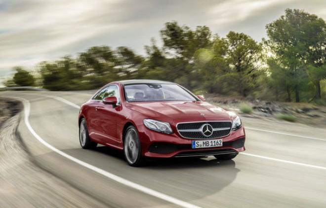 Noul Mercedes Clasa E Coupe: imagini și informații oficiale cu sosia modelelor Clasa S Coupe și Clasa C Coupe