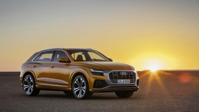 Premieră mondială: Noul Audi Q8 – noua faţă a familiei Q