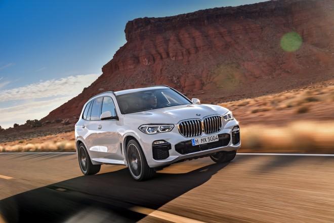 Vezi aici poze cu noul BMW X5