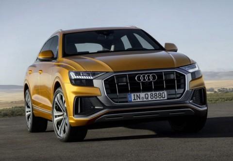 Noul Audi RS Q8 este așteptat în 2019: SUV-ul de performanță va avea propulsia de 680 CP de pe Panamera Turbo S E-Hybrid
