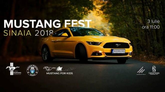 Mustang Fest, la Sinaia/ Parada si expozitie, pe 2 si 3 iulie