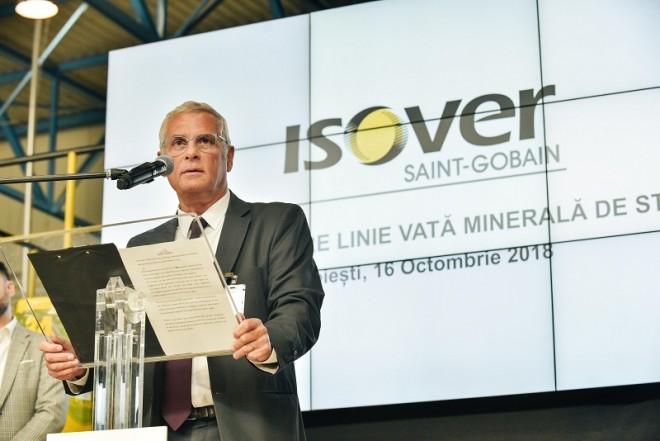 Saint-Gobain reia producţia la linia de vată minerală din fibră de sticlă de la fabrica Isover din Ploiești