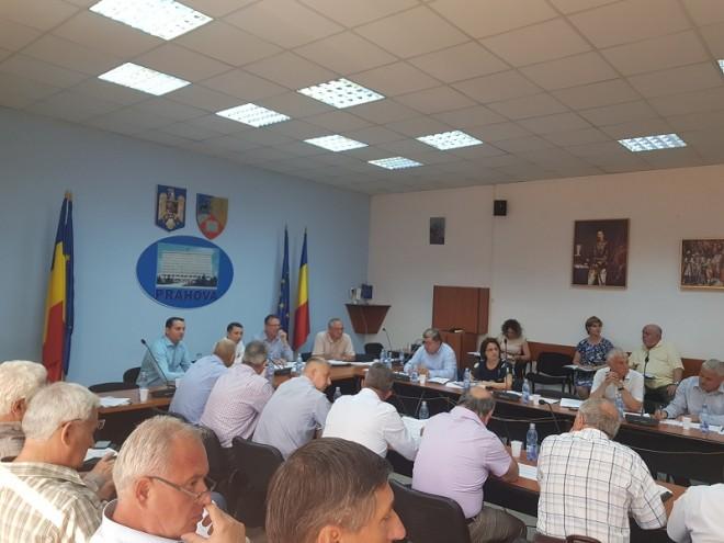 """Sedinta AGA a A.D.I """"Parteneriatul pentru Managementul Apei Prahova"""""""