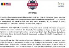 Conferinta Smart Start USA: Intalnire importanta cu ministrul Ilan Laufer, la UPG Ploiesti