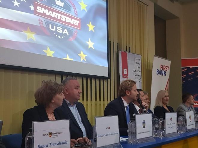 Caravana Smart Start USA a ajuns la Ploieşti