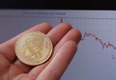Bitcoin atinge un minim istoric! Moneda virtuală a scăzut la cel mai redus nivel din an