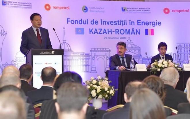 Prima ședință a Fondului de Investiții în Energie Kazah-Român