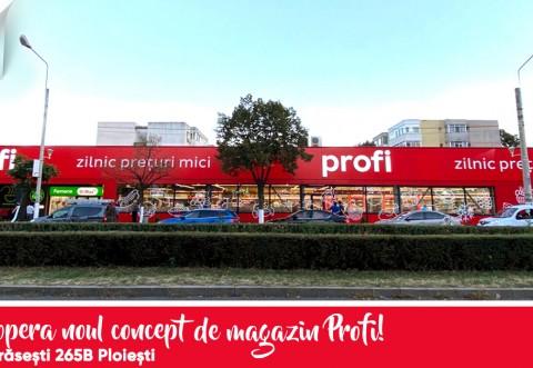 VIITORUL PROFI – Primul magazin concept in Ploiesti