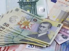 Leul se prăbuşeşte pe piaţa valutară