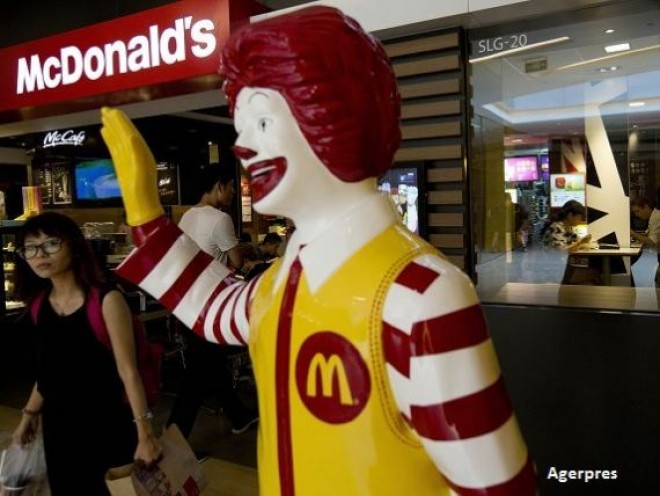 Restaurantele McDonald's au fost preluate de Citic Limited si Carlyle Group, pentru 2 mld. dolari