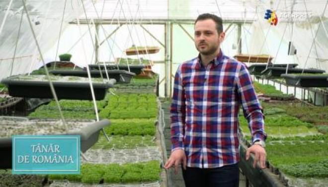 Afacerea de succes a unui prahovean de 27 de ani- microplantele
