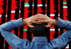 O nouă furtună pe piaţa financiară! Bursele din Europa se prăbușesc, după ce indicele Dow Jones a înregistrat o nouă scădere